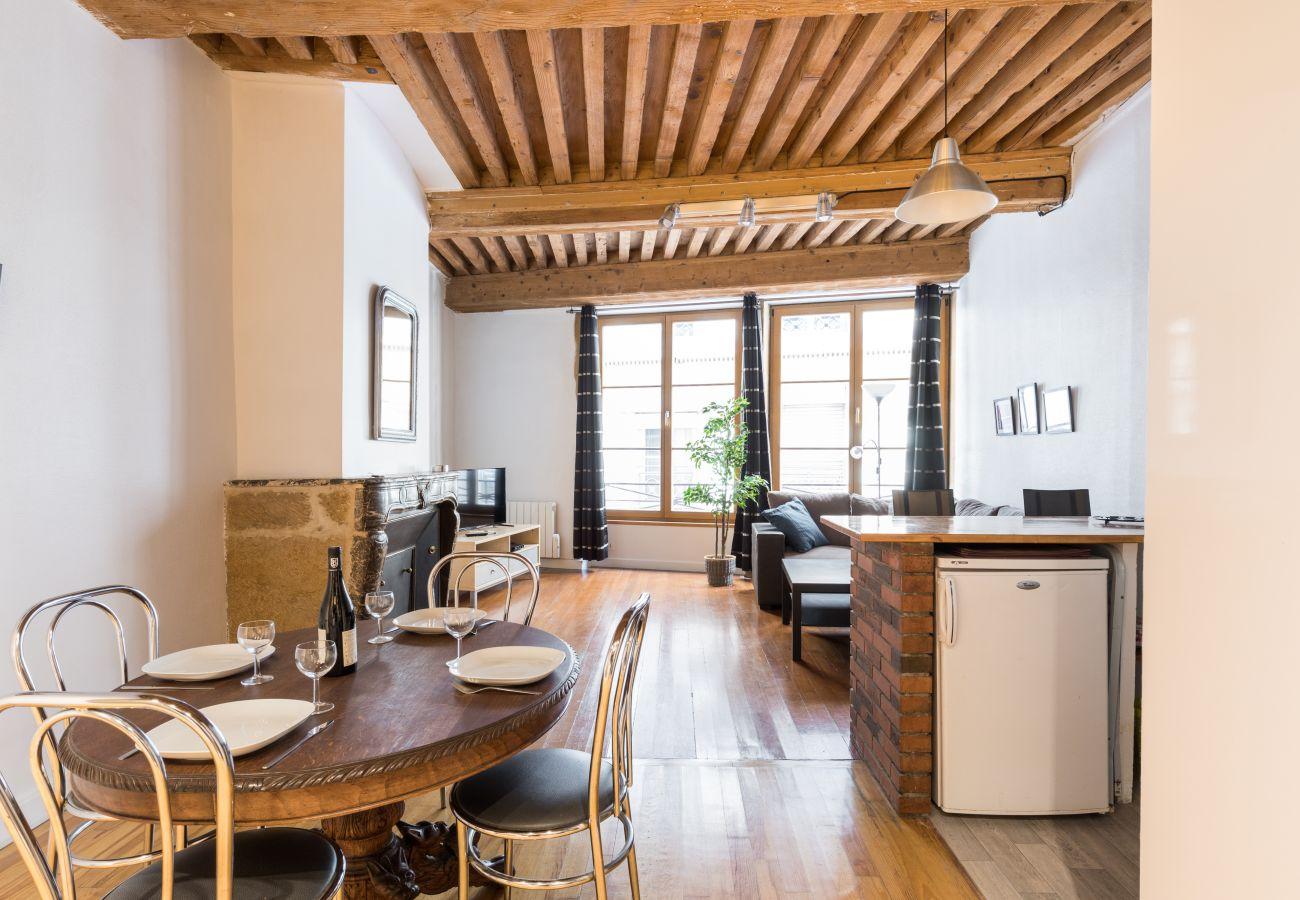 Apartment in Lyon - DIFY Authentique - Place des Jacobins