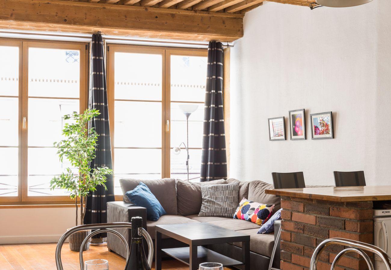 Appartement à Lyon - DIFY Authentique - Place des Jacobins